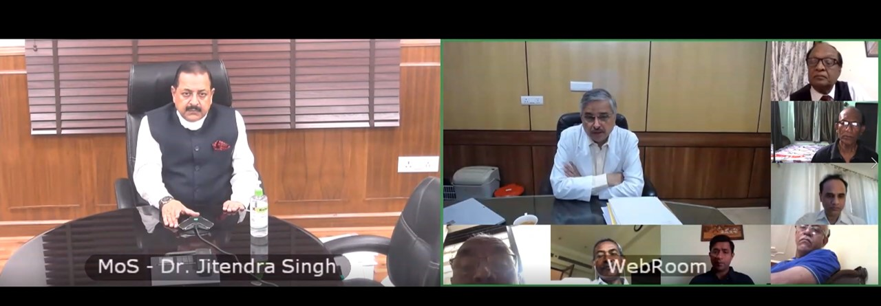 VC for Pensioners with Director - AIIMS