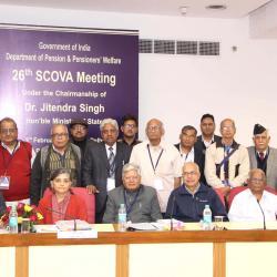 एससीओवीए सदस्यों के समूह चित्र