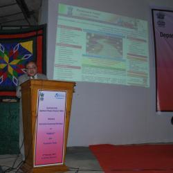 Sh. Alok Rawat, Secretary (Pension) Addressing the Pensioners (Pension)