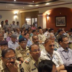Participants attending the Orientation Workshop on Anubhav under the Chairmanship of Sh. Alok Rawat, Secretary (Pension)