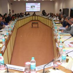 Mrs. Vandana Sharma, Joint Secretary (Pension) addressing the member of SCOVA