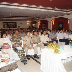 Participants attending the Orientation Workshop on Anubhav under the Chairmanship of Sh. Alok Rawat, Secretary (Pension)