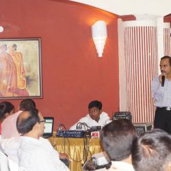 Sh. Anil Bansal, (NIC) Addressing